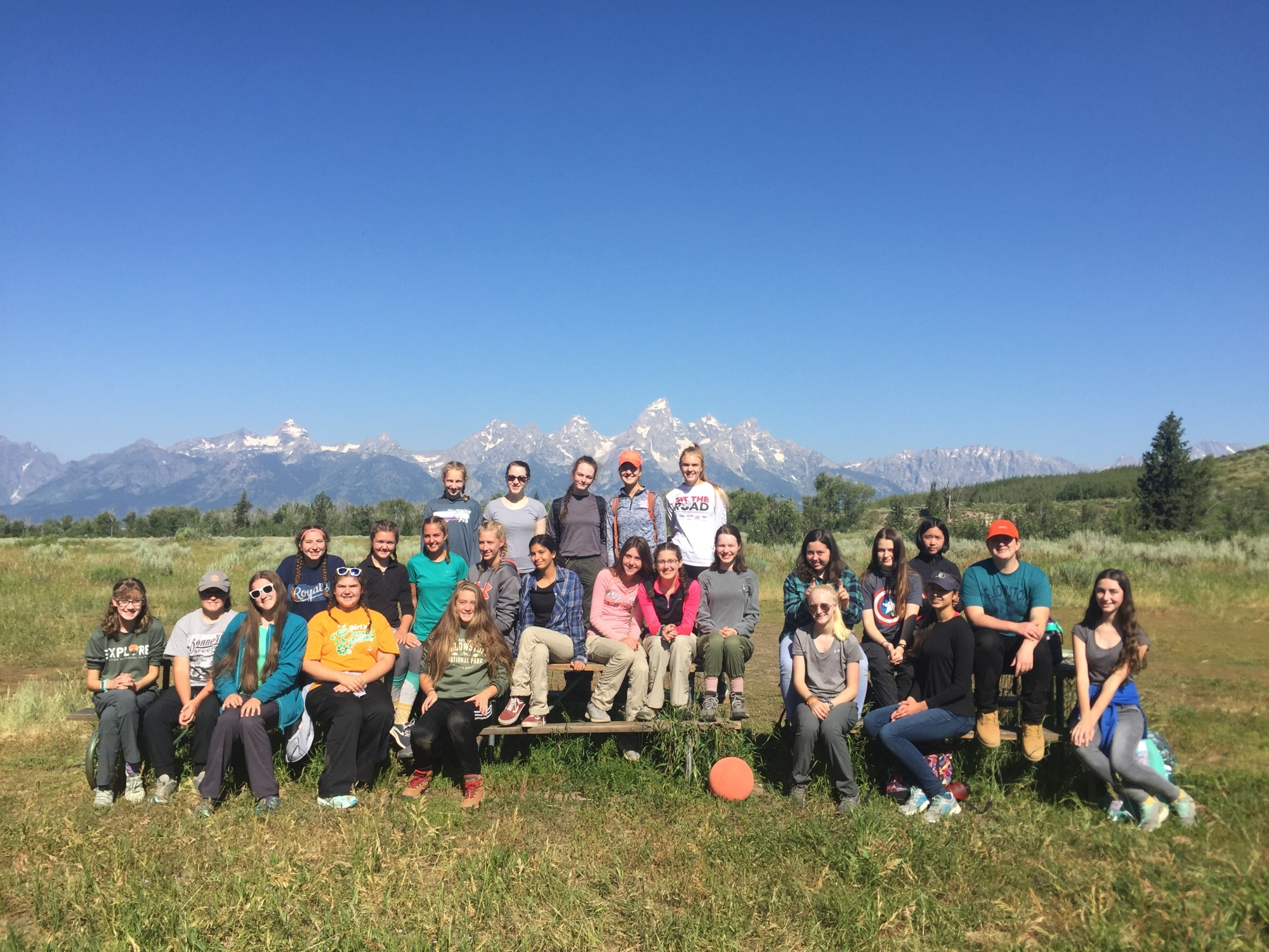 girl scout visits wyoming as part of destinations program