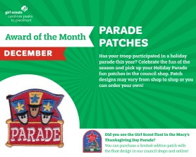 Badge of the month - December - Parade-01