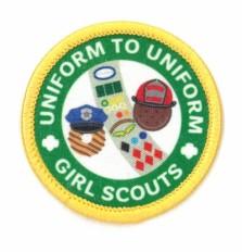 uniform2uniform- Weekend of Service patch