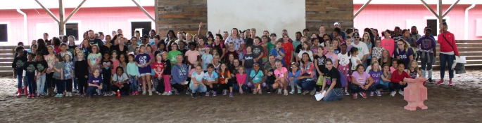 Girl Scout Day - Oct 2019 - good of large group