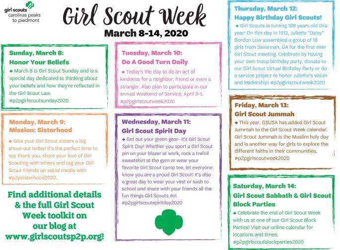 GirlScoutWeek